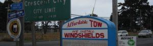 (AmE) windshield