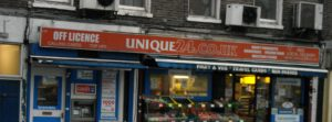 (BrE) off-licence
