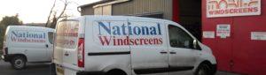 (BrE) windscreen
