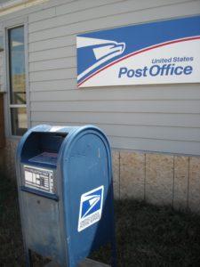 (AmE) US Postal Service