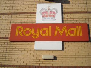 (BrE) Royal Mail