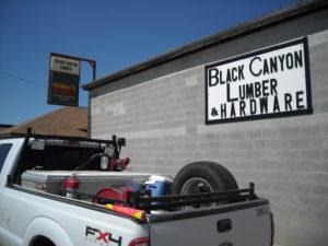 (AmE) lumber & hardware