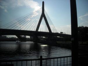 Boston Suspension Bridge